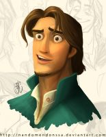 Flynn Rider Color Test by nandomendonssa