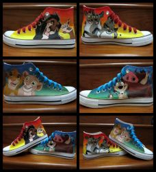 Lion King Shoes by bloofeesh