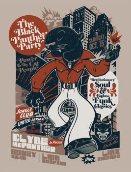 The Black Panther Party by Rusc