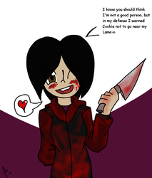 Excuses of a yandere by LinkAssault