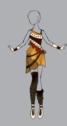 Outfit Adopt 28 (OPEN) 55 points only!! by LightChrome-Chan