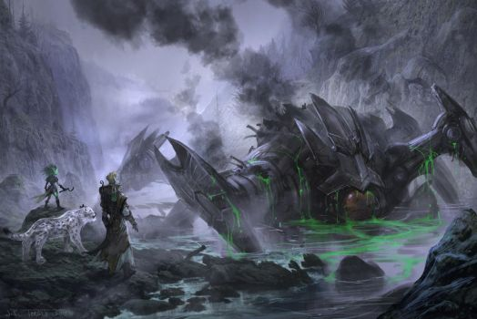 Entering the Scar by TARGETE