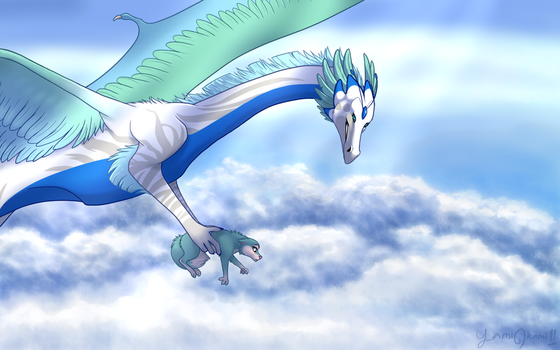To The Clouds and Beyond by YamiOkamii