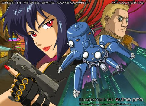 Ghost in the Shell Stand Alone by VulnePro