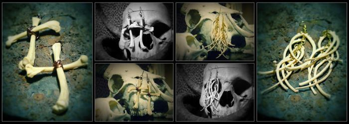 Real Bone Jewelry - Fetid Fashion by fetus0nthebeat