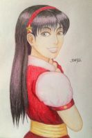 Athena Asamiya by julianDB92