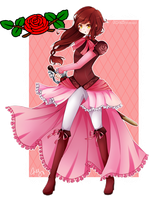 [PC] Red Rose by fae-chii