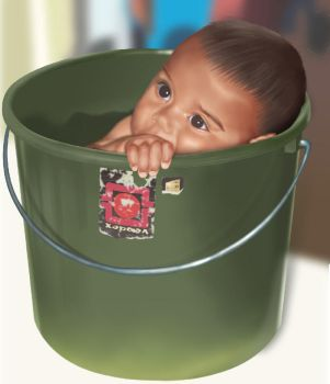 Brotha in Bucket by roes