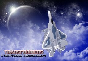DOTM - Cyberverse Starscream by SturmvogelPrime