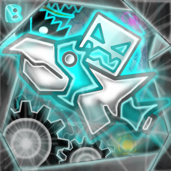 Geometry Dash Icon (REDO) by brenstar345