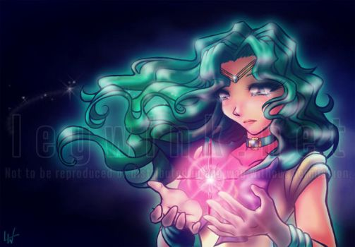 Sailor Neptune -regret- by LeyWink