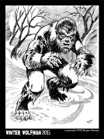 Winter Wolfman 2015 by BryanBaugh