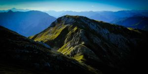 Tremendous Mountains by Floriarty