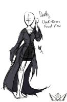 Death's Cloak and Dress Ref by OpalesquePrincess