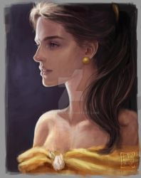 Belle by trixdraws