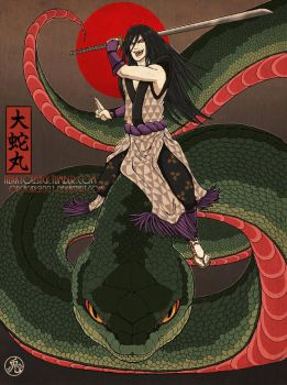 Lord of Serpents - Orochimaru by Orcagirl2001