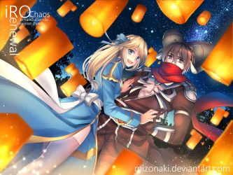 Ragnarok Online High Priest and Assassin Cross by mizonaki