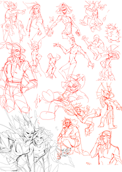 sketchdump0010 by guild-snail