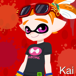 (OC) Kai by Elite-Octoling