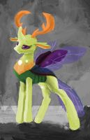 ( 1hour Painting) King Thorax by OwlVortex