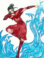Azula 'Playing With Fire' by Maurexen