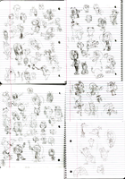 Shit-ton of Doodles by LimeTH