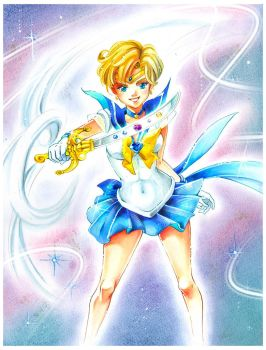 Sailor Moon: Sailor Uranus by Naschi
