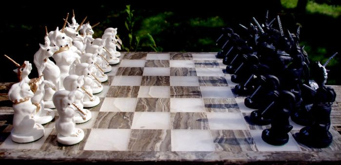 Chess Set II by SovaeArt