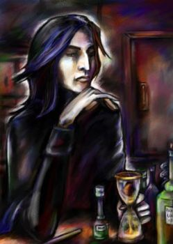Severus Snape by iscalox