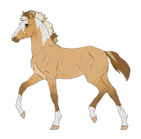 N3690 Padro Foal Design for TheAngelicGunslinger by casinuba
