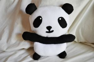 Panda Plush by eserenitia