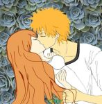 IchiHime_Sweet Kiss by Cobexs