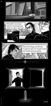 Harry Potter and Equilibrium Crossover 03 by kissyushka