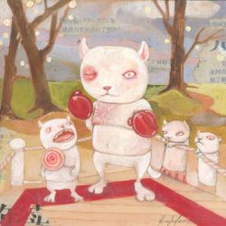 Boxing by miorats