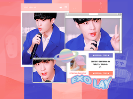 EXO LAY / PHOTOPACK by KoreanGallery