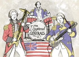 The Disgraced Generals Club Band by TheBrassGlass