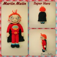 Martin Matin Super Hero by Crocsbetty