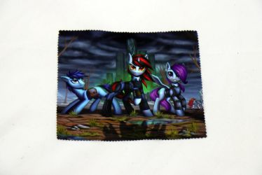 Fallout Equestria Horizions Glasses Cleaning Cloth by Art-N-Prints