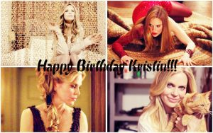 Happy Birthday Kristin Bauer van Straten by Before-I-Sleep