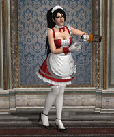 Pose - Momiji in 'At Your Service' by Lhacrimosa