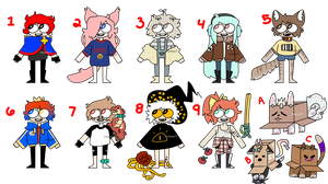 closed - lame adopts by ReeAdopts