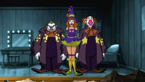 Daphne Blake and Evil Clowns 02 by VictorZulu