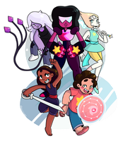 We Are the Crystal Gems! by realle