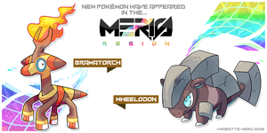 Meris Region Pokemon 17 by Wabatte-Meru