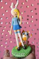 Fionna and Cake by theredprincess