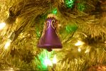 Christmas Bell Ornament by MogieG123