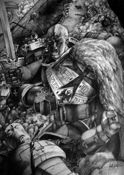 Jeremiah of the Black Templars by tacticangel