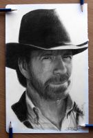 Chuck Norris by AtomiccircuS