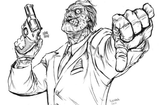 Two-Face by drkwtr1