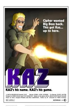 KAZ (Movie Poster) by HechEff